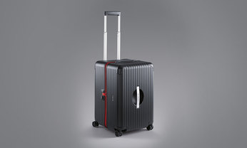 PTS Ultralight XL [Rimowa], Noir/ Rouge Indien